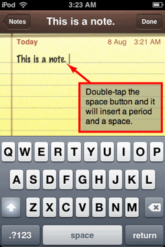 notes for iphone