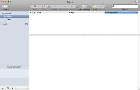 mail 3.1 setup