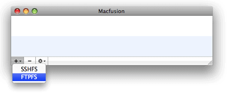 How to mount a remote file system as a local drive in OS X
