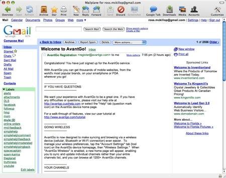 mailplane gmail client