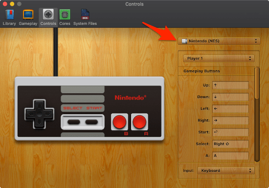 configuring an input to play MAME ROMs on your Mac