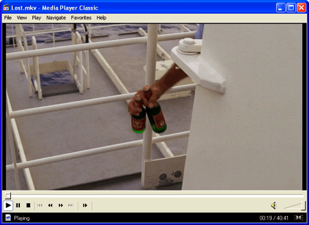 play an MKV file in Windows using Media Player Classic
