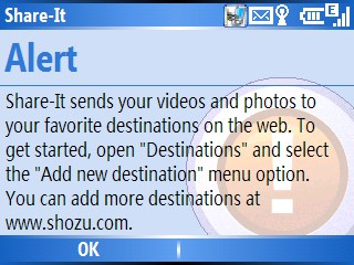 uploading pictures from your camera phone to flickr