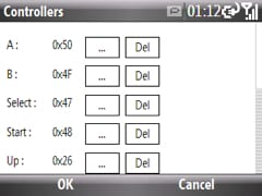 setting the controller options in pocket nester plus