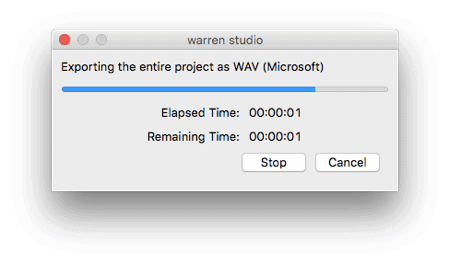 audio being extracted from an mp4 file in audacity