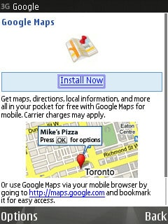 Installing and using Google Maps for Mobile on the Nokia N95 on download london tube map, download icons, download business maps, online maps, download bing maps, topographic maps,