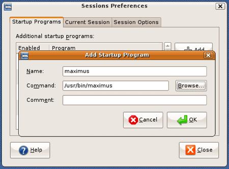 ubuntu startup programs