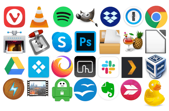 apps to install on a new mac