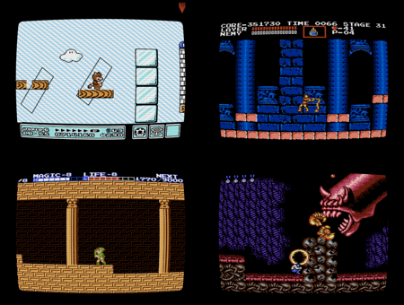 Nintendo screen saver