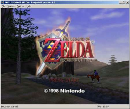 emulate nintendo 64 in windows with Project64