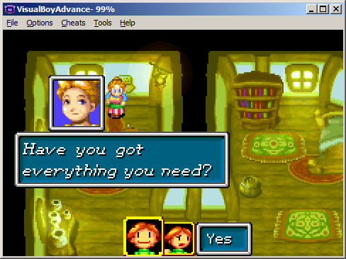 emulate Nintendo Gambeboy Color and Advanced games in Windows