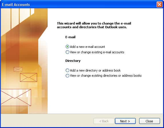 how to set up archive in outlook