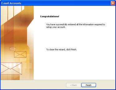 set up outlook 2003 email