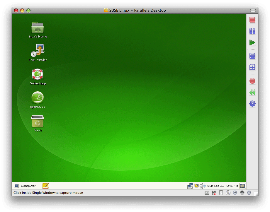 How to install openSUSE 11 in OS X using Parallels – a