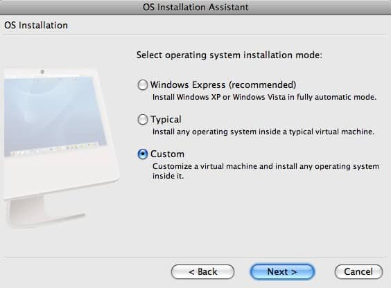 How to install Ubuntu 7 10 (Gutsy Gibbon) in Parallels