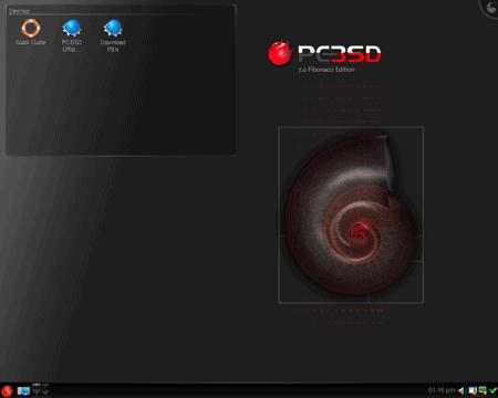 pc-bsd desktop