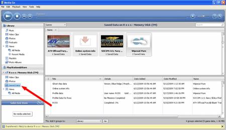 main interface Window for the Media Go App