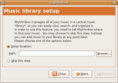rhythmbox ipod