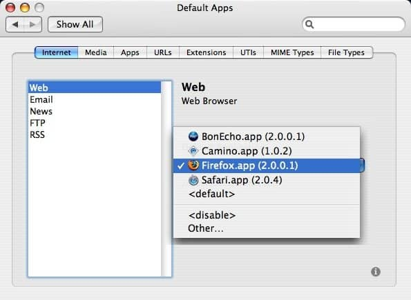 how to open a file using a different program