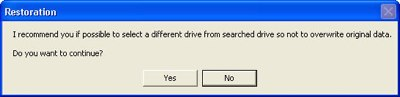choosing the location to save a file