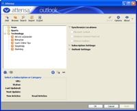 attensa for outlook