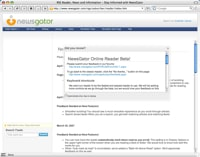 newsgator online ajax beta