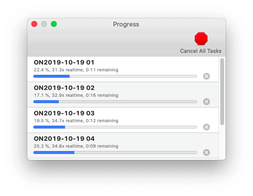 the process of converting SHN to MP3 in macOS