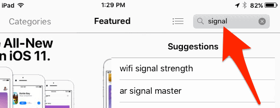 how to use open signal app