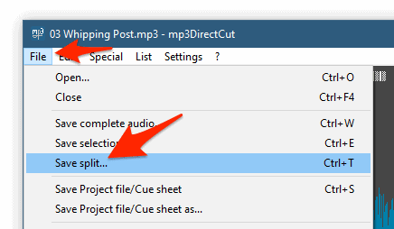 How to Split an MP3 File Into Multiple Tracks (Windows)