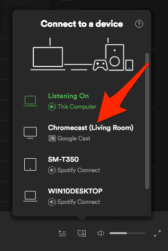 How to Stream Spotify From Your PC/Laptop to Chromecast