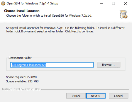How to SSH from Windows 10