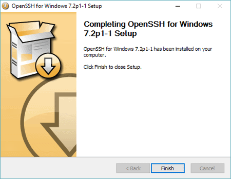 how to use ssh on windows