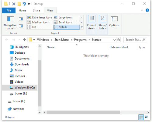 windows 10 opening bit torrent on startup