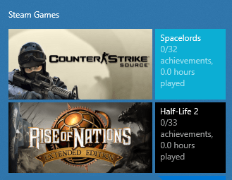 How to Add Steam Games as Tiles in the Windows 10 Start Menu