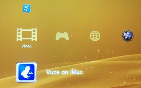 the Video section of the Playstation 3 home screen