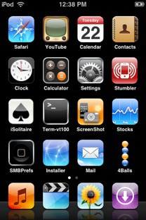 Dock labels hidden in SpringBoard