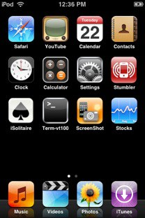 springboard with last row skipped