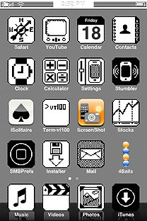SummerBoard Theme for the iPhone or iPod Touch