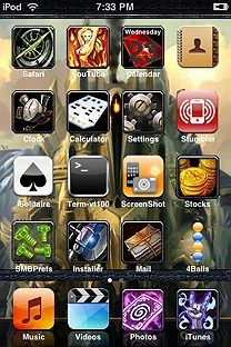 WoW SummerBoard Theme for the iPhone or iPod Touch