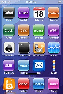 abcmsaj SummerBoard Theme for the iPhone or iPod Touch