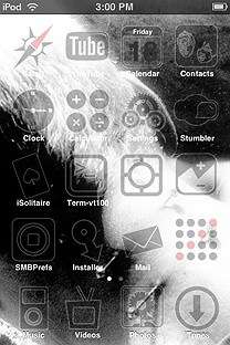 blackjaindim SummerBoard Theme for the iPhone or iPod Touch