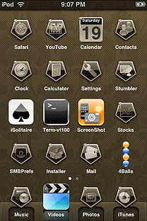 chellagaantique SummerBoard Theme for the iPhone or iPod Touch