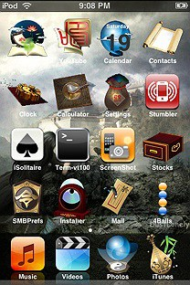 china_wind SummerBoard Theme for the iPhone or iPod Touch
