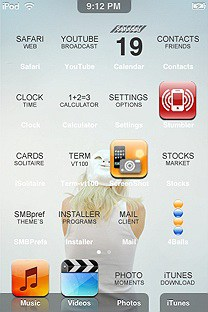 damino SummerBoard Theme for the iPhone or iPod Touch