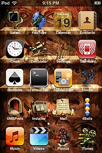 dustlonely SummerBoard Theme for the iPhone or iPod Touch