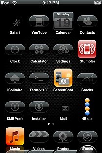 eglass SummerBoard Theme for the iPhone or iPod Touch