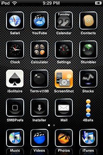 gameplaya3159 SummerBoard Theme for the iPhone or iPod Touch