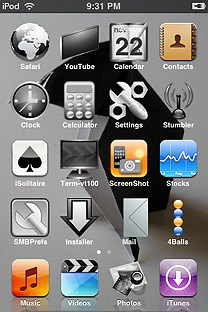 greyday SummerBoard Theme for the iPhone or iPod Touch