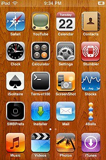 icarus SummerBoard Theme for the iPhone or iPod Touch