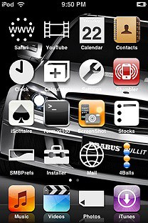 ipsp SummerBoard Theme for the iPhone or iPod Touch